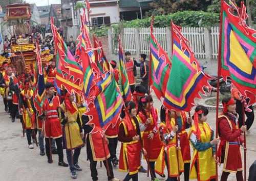 весенние фестивали на севере страны hinh 0