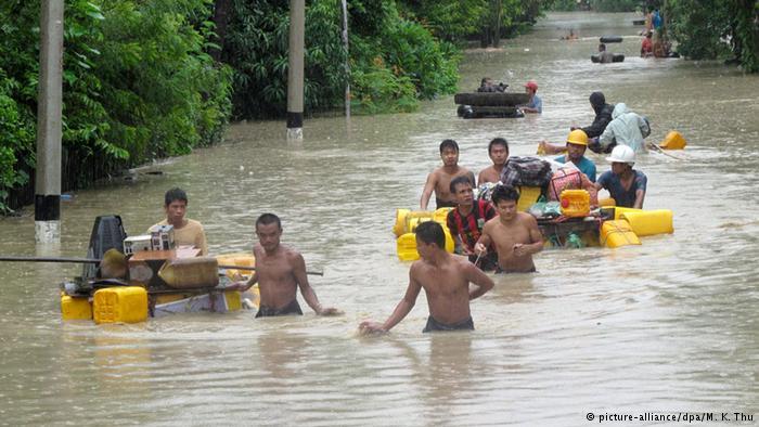 Heavy rains and floods across Asia