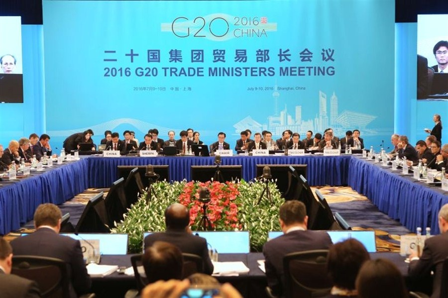 G20 Trade Ministers Meeting opens in China