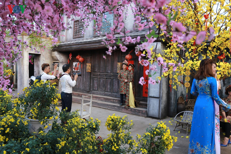 hanoians visit flower villages as tet holiday nears hinh 4