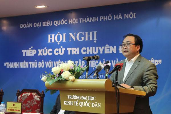 hanoi pledges full support for budding entrepreneurs  hinh 0