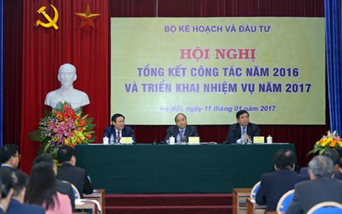 กระทรวงวางแผนและการลงทนตองเดนหนาในการวางแผนพฒนาเศรษฐกจ   hinh 0