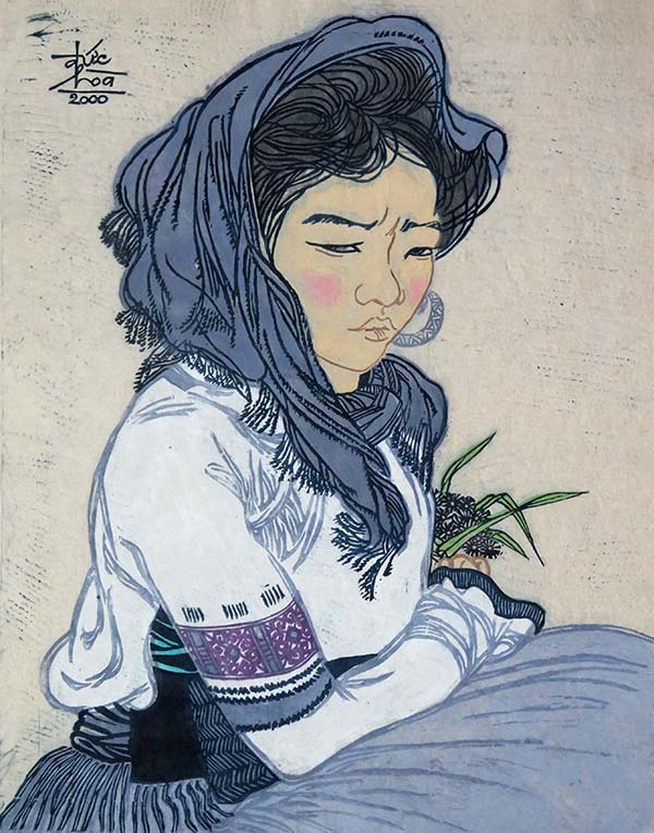 mua xuan trong tranh cua hoa si nguyen duc hoa hinh 7