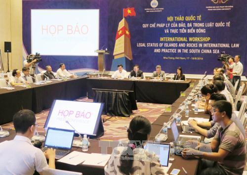 в городе нячанг открылся международныи семинар по восточному морю hinh 0