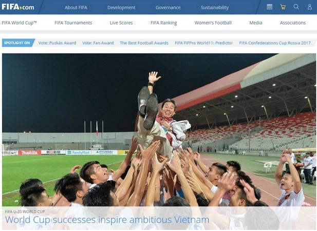 вьетнамскии футбол получил позитивную оценку фифа hinh 0