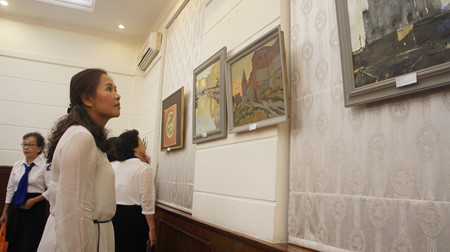 россия глазами вьетнамских художников hinh 0