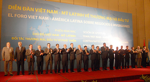 Vietnam-Latin America forum on trade and investment opens in Hanoi