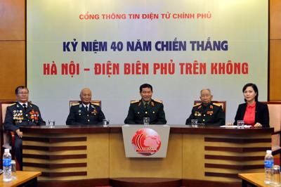 """Online talk on """"Hanoi-Dien Bien Phu in the air victory"""""""