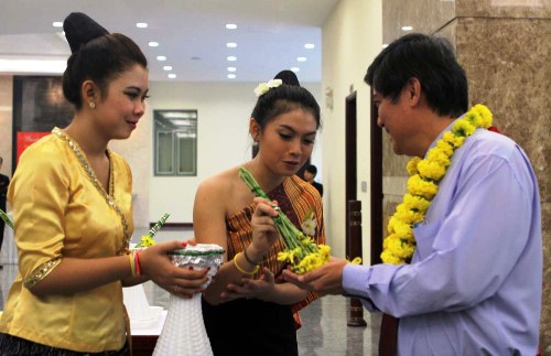 Laotian, Cambodian students enjoy new year festival in Ho Chi Minh city