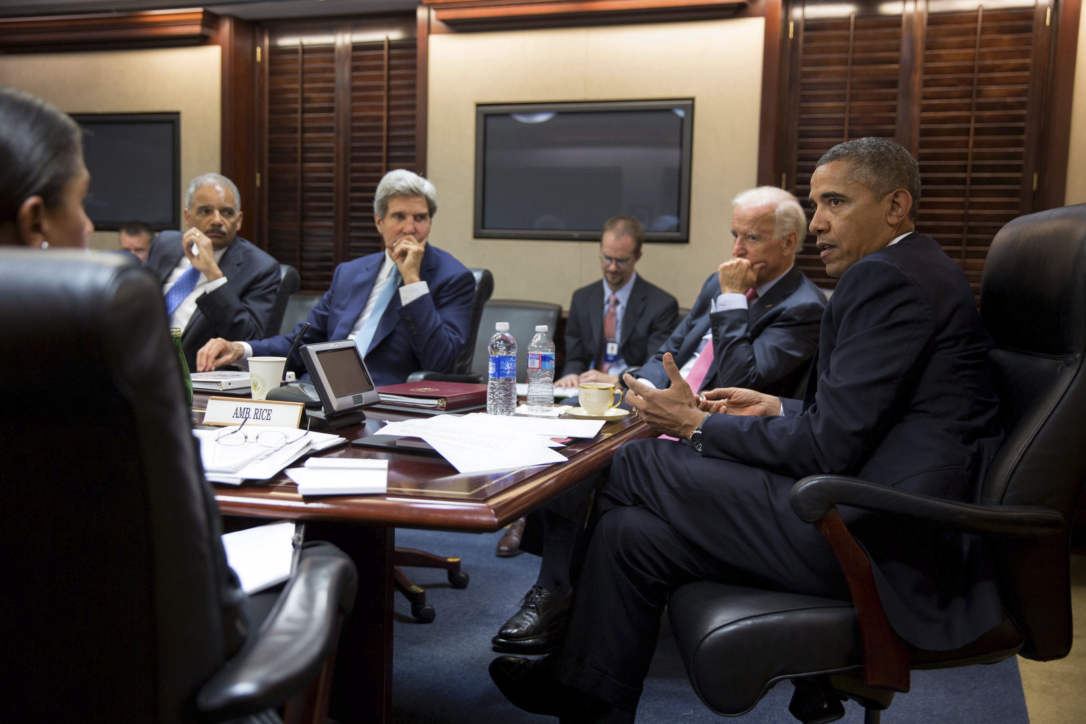 Congressional leaders back Obama for Syria strike