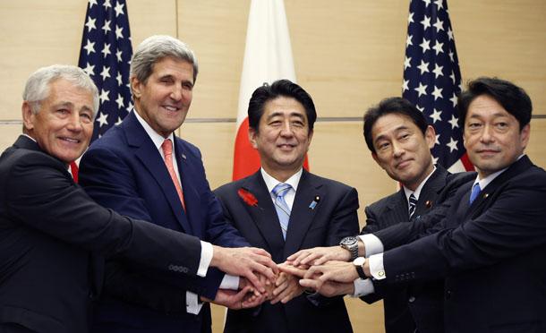 US, Japan urge measures to solve East Sea disputes