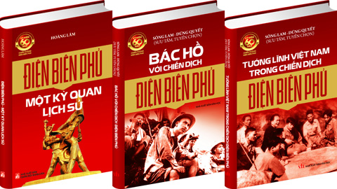 Books published to celebrate the 60th anniversary of Dien Bien Phu victory Spotlight