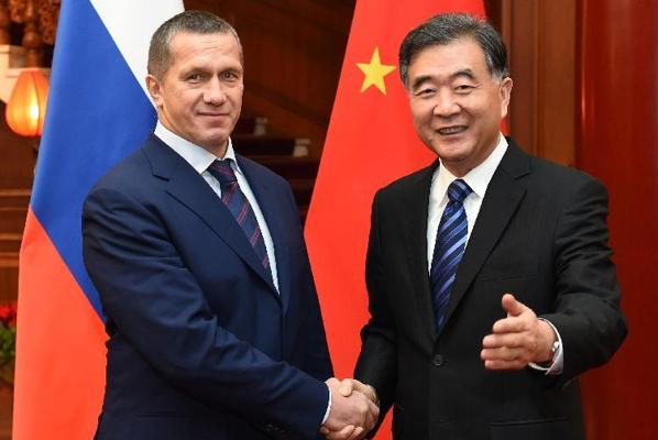 China, Russia agree to cooperate in developing Far East region