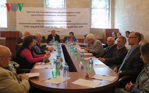 Conference on Russia-Vietnam relations prospects