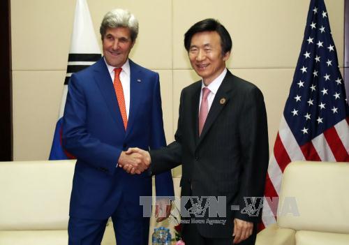 South Korea, US to continue pressure on North Korea