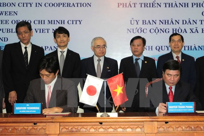 Ho Chi Minh city, Osaka city cooperate in environmental protection
