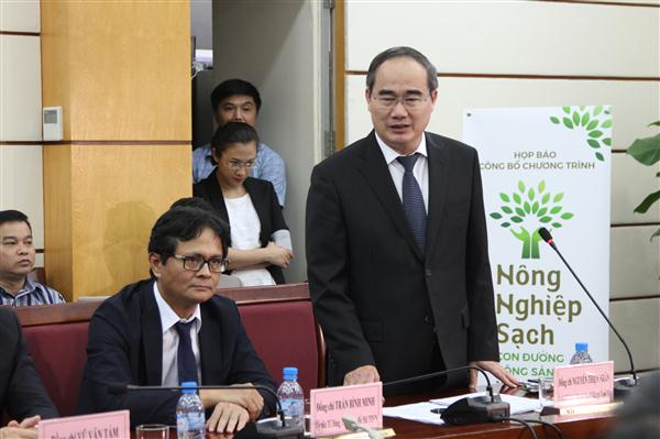 VFF President Nguyen Thien Nhan: Green food for Vietnamese and the world