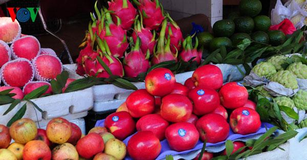 la ofrenda de frutas en los dias del tet vietnamita  hinh 3