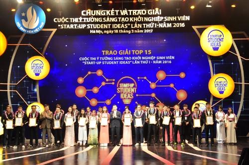 finalrunde und preisverleihung des wettbewerbs der innovation und start-up der studenten hinh 0