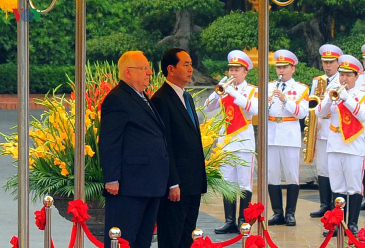 vietnam und israel bevorzugen zusammenarbeit in wirtschaft und wissenschaft hinh 0