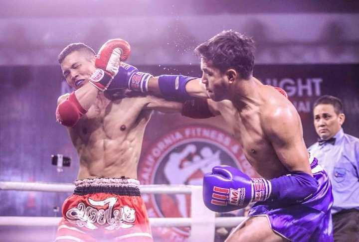 """การแขงขนมวยไทยกระชบมตร """"muay thai fight night"""" ณ นครโฮจมนห hinh 0"""