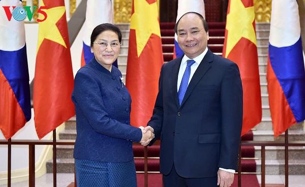 vietnam, laos foster special solidarity hinh 1