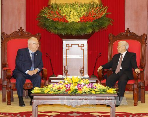economic, technological cooperation defined as key pillar in vietnam-israel ties  hinh 2