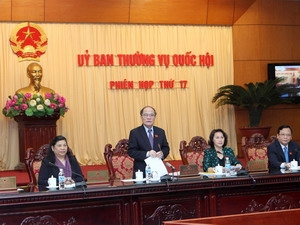 NA Standing Committee discusses revised Law on the Vietnam Fatherland Front