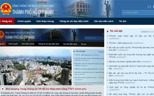 HCM city's information portal launched