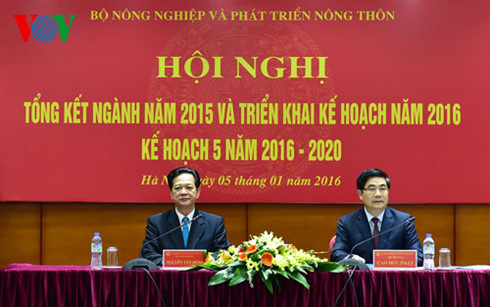 Agriculture and rural development plans for 2016