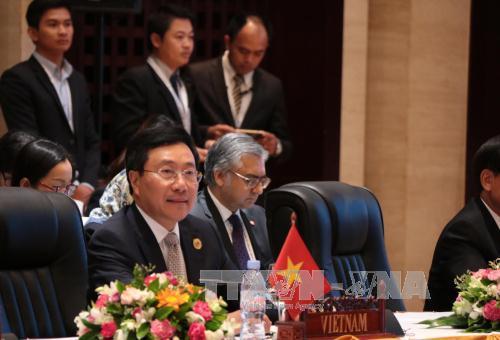позиция вьетнама по обеспечению мира, безопасности, стабильности, свободы мореходства и авиации  hinh 0