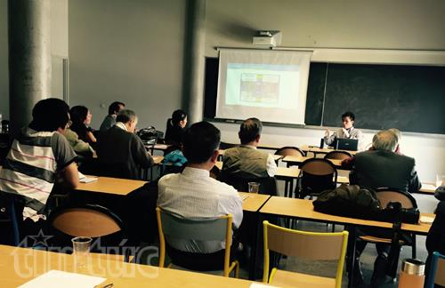 Workshop on East Sea disputes held in Paris
