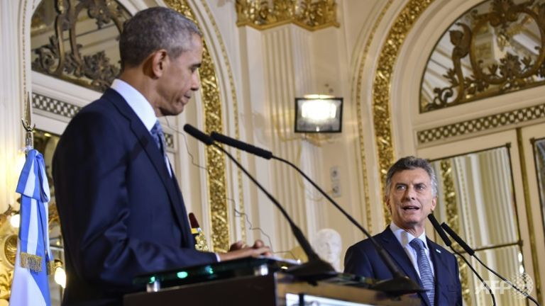US President Barack Obama ended his visit to Argentina