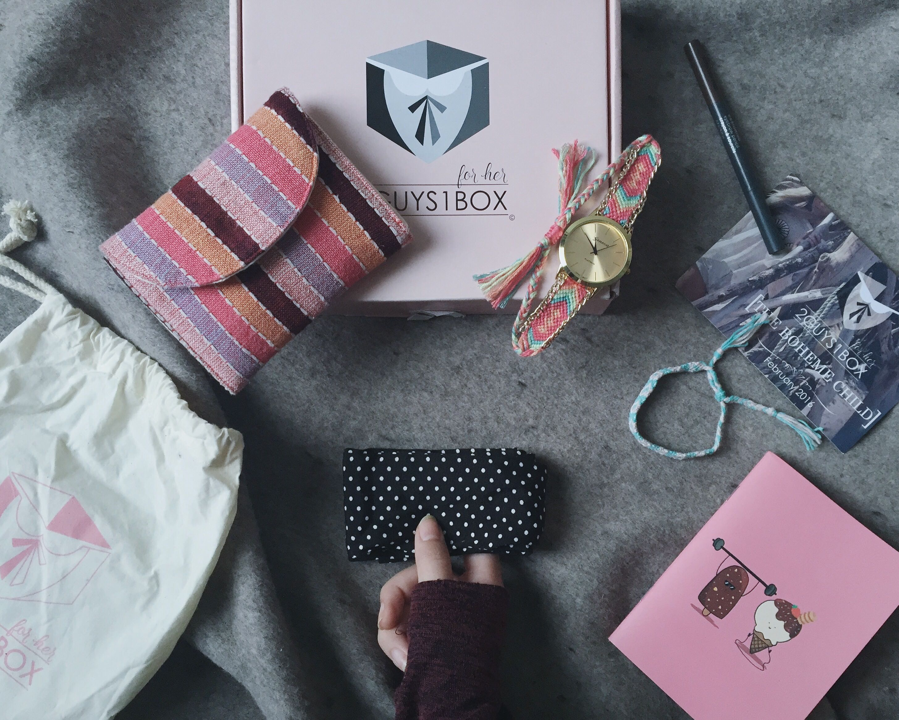 2guys1box - first subscription box service in vietnam hinh 2
