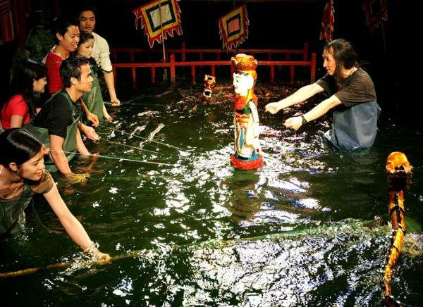 vietnamese water puppet's design and manipulation   hinh 2