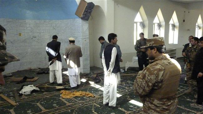 Bomb blast in Afghan mosque causes casualties