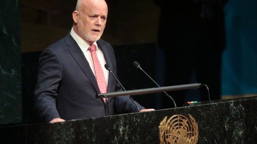 Fiji ambassador becomes President of the 71st UN General Assembly