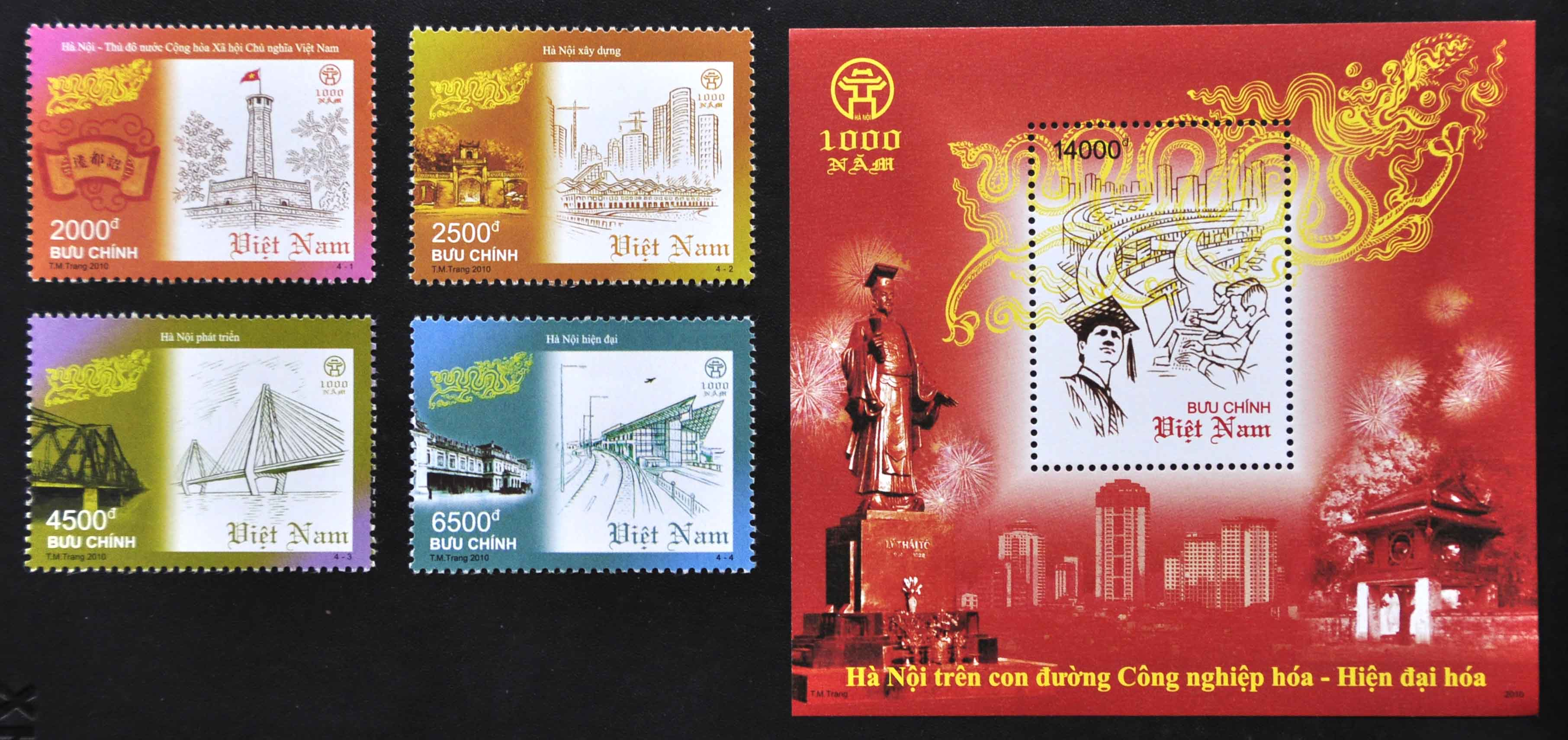 Stamp collecting hobby in Vietnam