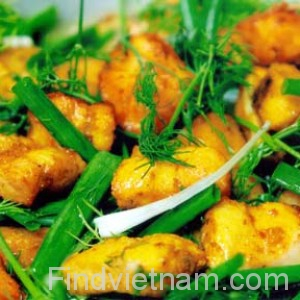 vietnamese fish with turmeric and dill hinh 1