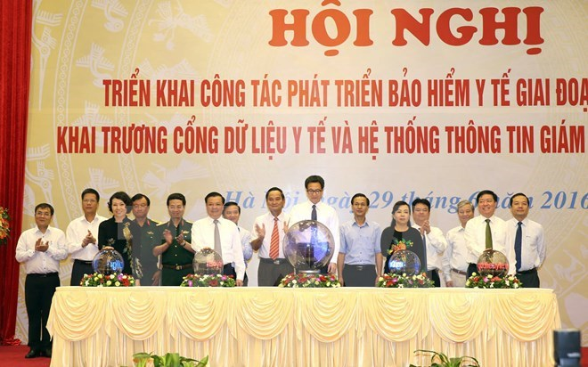 Health insurance data system launched