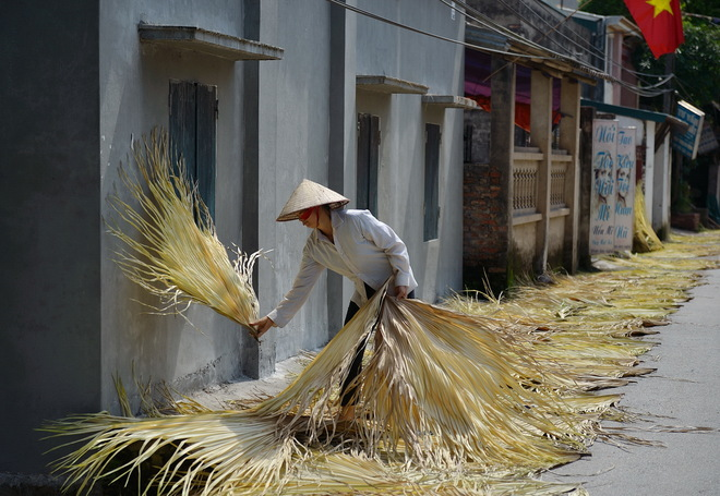 tri le - a village that makes traditional palm leaf hats hinh 0