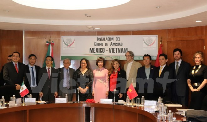 Mexico-Vietnam Parliamentary Friendship Group introduced