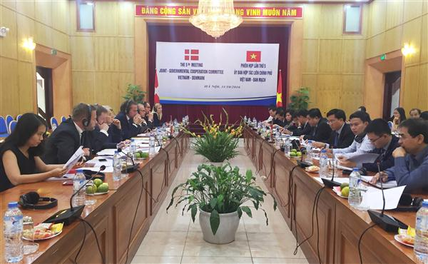 Vietnam, Denmark enhance comprehensive partnership