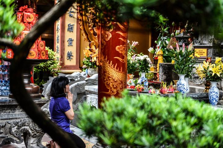 посещение храма нге, где поклоняются женщине-генералу ле тян hinh 12