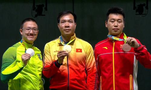вьетнам получил первую в истории золотую медаль на олимпииских играх hinh 0
