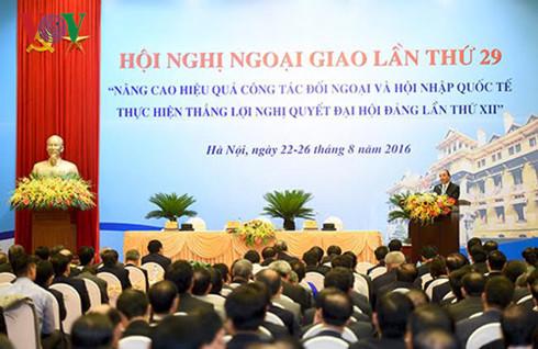 необходимо строить созидательную дипломатию на благо развития страны hinh 0