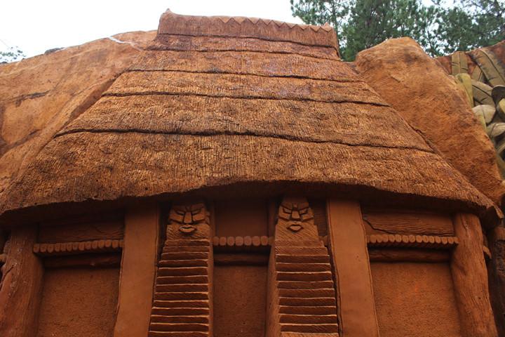 подземныи тоннель с глиняными скульптурами в далате hinh 6