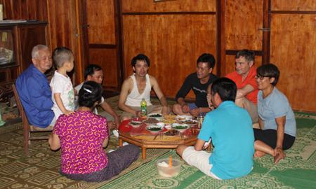 пакнгои – образцовое село культуры, занимающееся хоумстэи-туризмом в провинции баккан hinh 1
