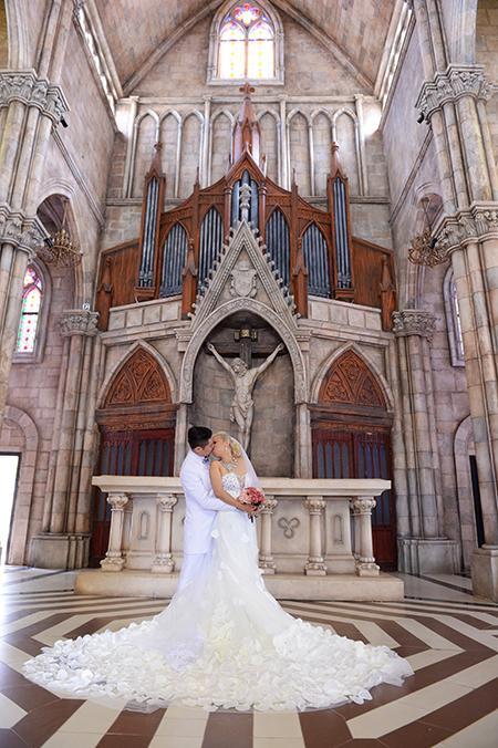 романтичныи курорт бана в свадебныи сезон hinh 2