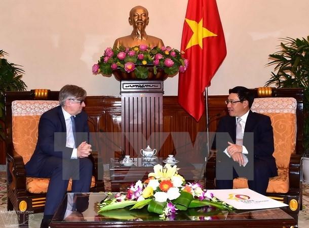 вьетнам и испания провели политические консультации на уровне замглав мид hinh 0
